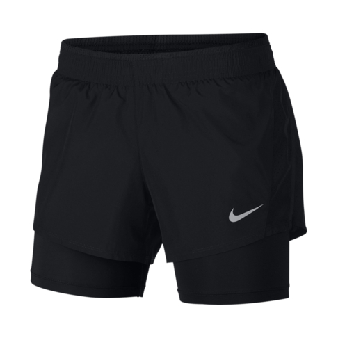 710884f494812 Women s Nike 10k 2-in-1 Black Running Shorts