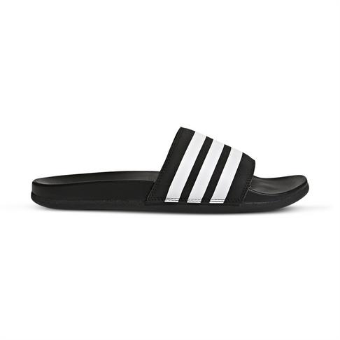 afad6d535 Men s adidas Adilette Cloudfoam Plus Black White Slide