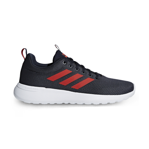 f7d8eb19ed7274 Men s adidas Cloudfoam Lite Racer CLN Grey Red Shoe