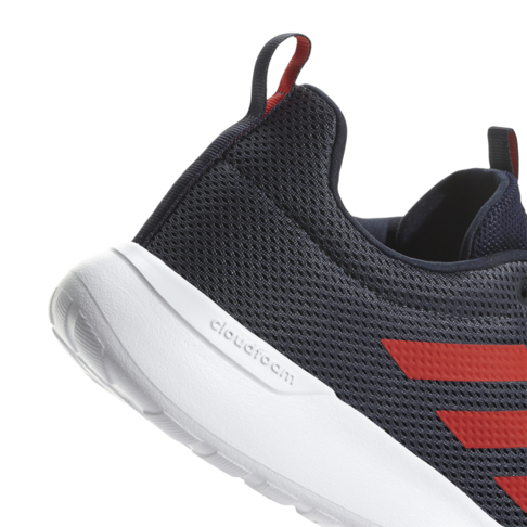 6787f5e11dcd93 Men s adidas Cloudfoam Lite Racer CLN Grey Red Shoe