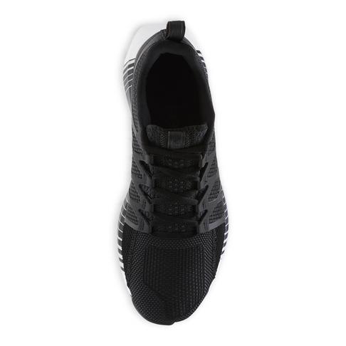 Men s Reebok Fusion Flexweave Cage Black Shoe 784fe1c68