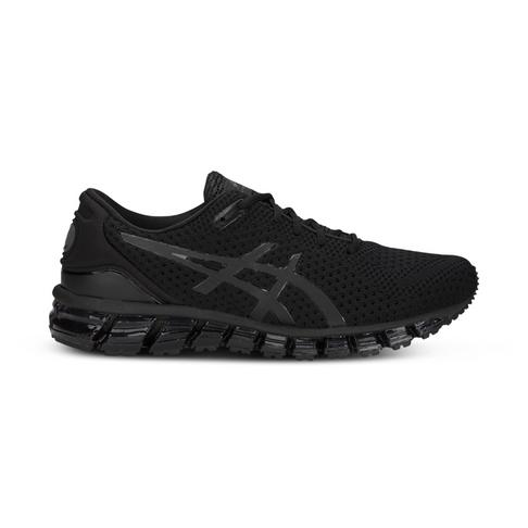 best cheap 520ce f3784 Men's Asics Gel Quantum 360 Knit 2 Black Shoe