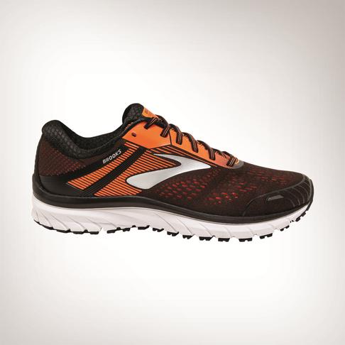 size 40 9ccb7 33255 Men's Brooks Adrenaline GTS 18 Orange Shoe