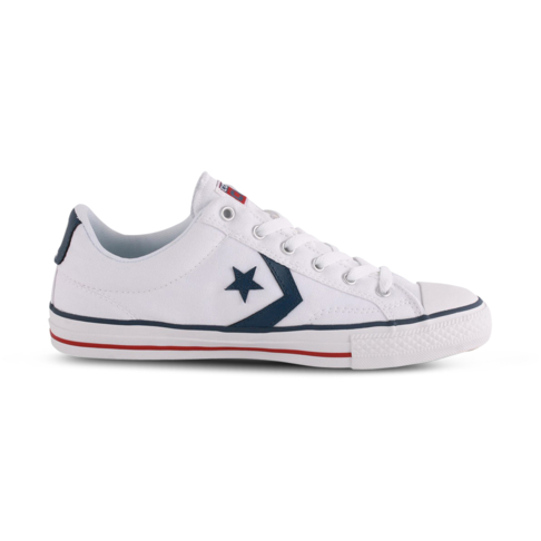 bf1f1d1938ce Men s Converse Star Player OX White Navy Shoe