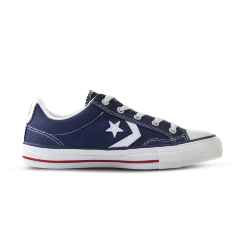 e53d2db13125 Men s Converse Star Player OX Navy White Shoe