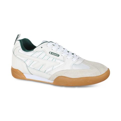 b5b8bf9bc341 Men s Hi-Tec Squash Classic II White Green Shoe