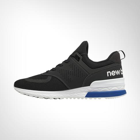 18d0080164c Men s New Balance 574 Sport Black Shoe