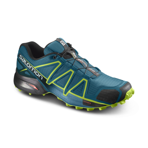 6f7d63221c04 Men s Salomon Speedcross 4 Green Volt Shoe