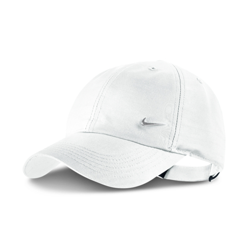 f981e487439 Junior Nike H86 Metal Swoosh White Cap
