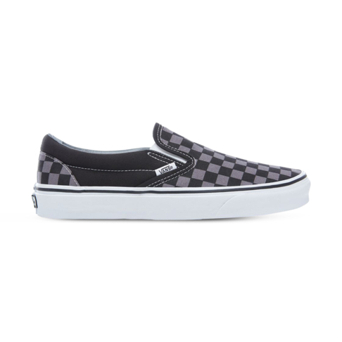 113ef4f1ee1 Men s Vans Classic Slip-On Black Grey Check Shoe