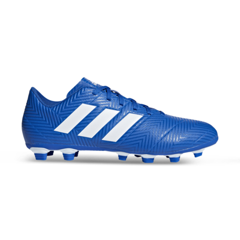 2e42773fab5c Men s adidas Nemeziz 18.4 FG Blue White Boot