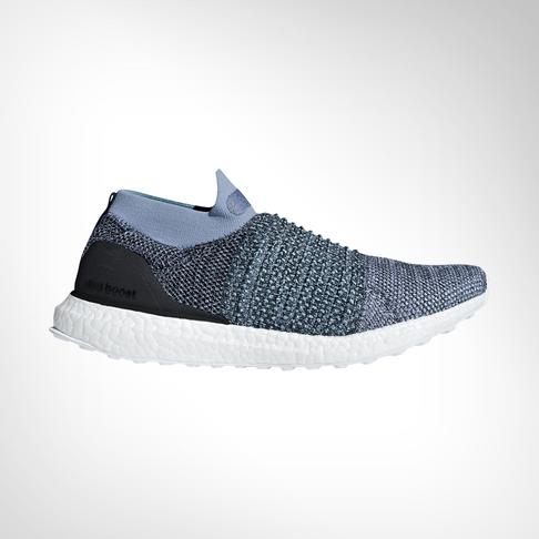 san francisco a6379 9ccf8 Men's adidas Ultra Boost Laceless Parley Blue Shoe