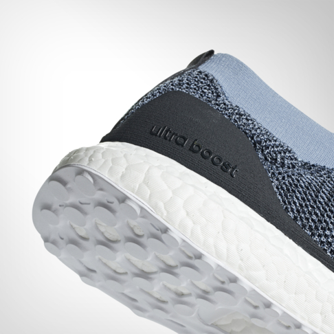 Men S Adidas Ultra Boost Laceless Parley Blue Shoe