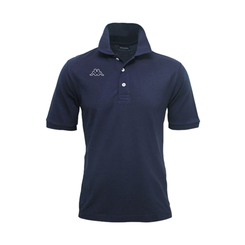 buy popular 6f1e6 6e753 Boys Kappa Logo Dirk Navy Polo
