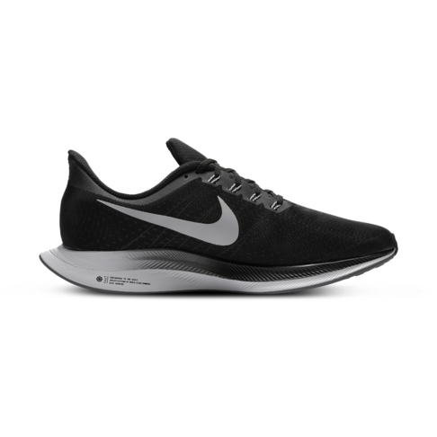 official photos dbeb9 bc32a Men s Nike Zoom Pegasus +35 Turbo Black Grey Shoe