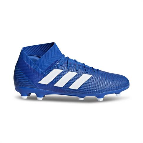 d546697208d2 Men s adidas Nemeziz 18.3 FG Blue White Boot