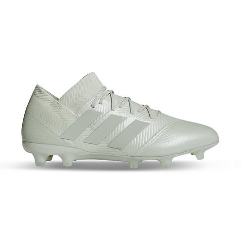 the latest dfb03 ce9a9 Men s adidas Nemeziz 18.1 FG Silver White Boot