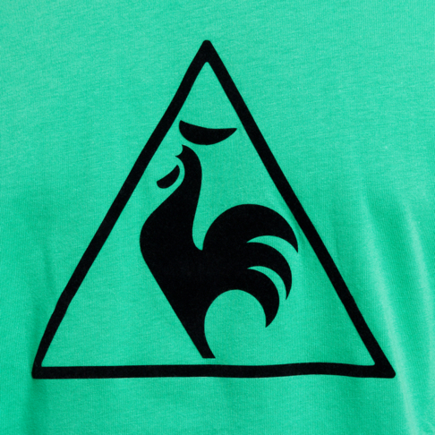 Men's Le Coq Sportif Essential POF No 1 Green Tee
