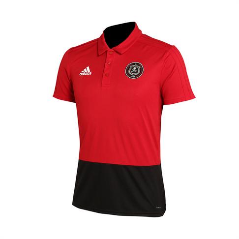 8df2887431c Men's adidas Orlando Pirates Red/Black Polo Shirt