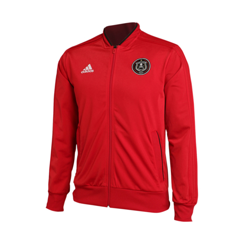 7d378f4d4 Men's adidas Orlando Pirates PES 2018/19 Red Jacket
