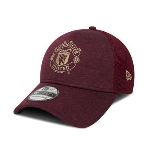 New Era Manchester United 39Thirty Red Fitted Peak aaf6eebfc3a5