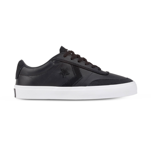 5627faebb59d Men s Converse Courtlandt OX Black White Shoe