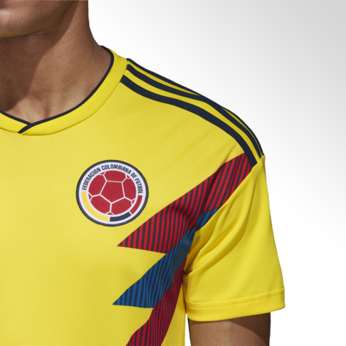 2605b58d80c Men's adidas Colombia World Cup Home Replica Jersey