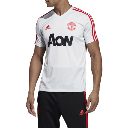 ae67301a48d Men s adidas Manchester United Grey Red Training Jersey