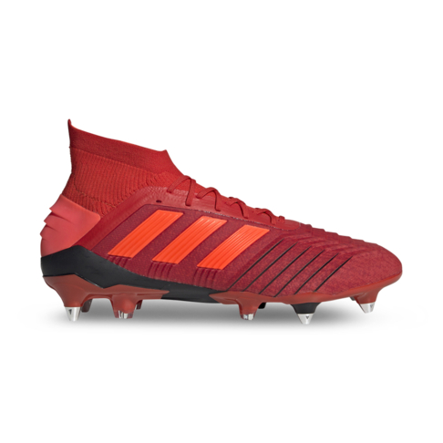 0bc07992ffaa Men s adidas Predator 19.1 Soft Ground Red Black Boots