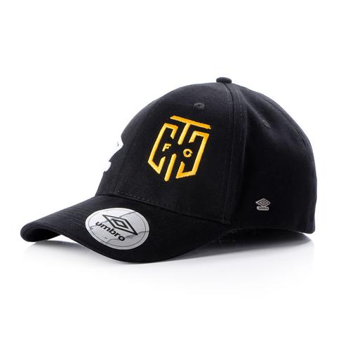 Umbro Cape Town City FC Fitted Black Peak Cap 485c4f39523a