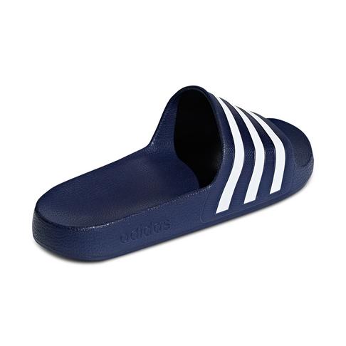 a487270aabae Women s adidas Adilette Aqua Navy White Slide