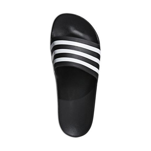 0af6b4312f8 Women's adidas Adilette Aqua Black/White Slide