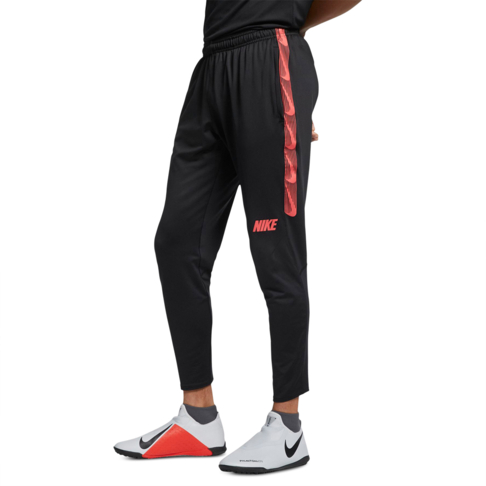 detailed look 28acd db664 Men s Nike Dri-Fit Black Ember Glow Squad Football Pants