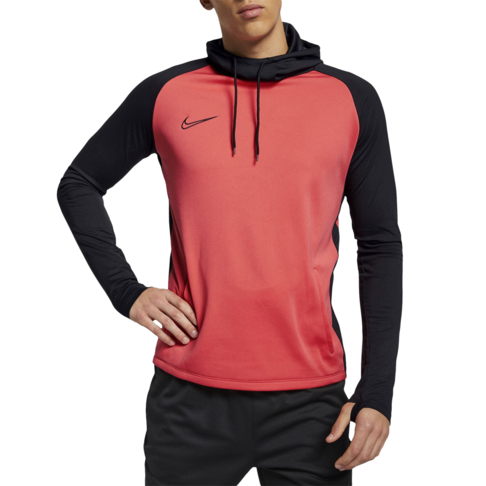 73b2f23a Men's Nike Dri-Fit Academy Soccer Ember Glow Pullover Hoodie