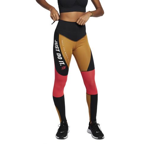 0451d398286ea Women's Nike Dri-Fit Distort Black/Wheat Training Tights