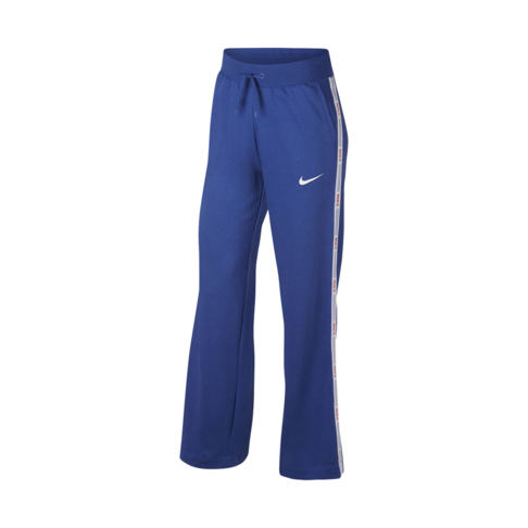 b1e9401115b Women's Nike Sportswear Hyper Femme Blue Tape Trackpants
