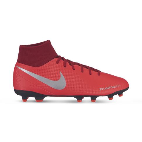 more photos 14873 bf34b Men's Nike Phantom VSN Club DF FG Red/Silver Boots