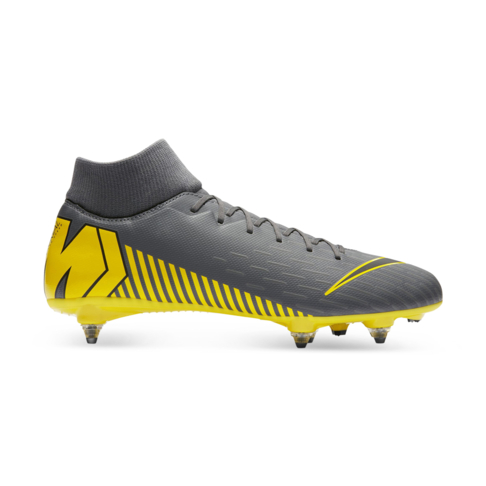 sports shoes dd4bd b942c Men's Nike Superfly 6 Academy DF SG Grey/Yellow Boots