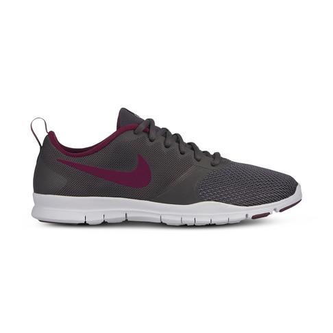 e3bf2eebe49a Women s Nike Flex Essential TR Charcoal Purple Shoe