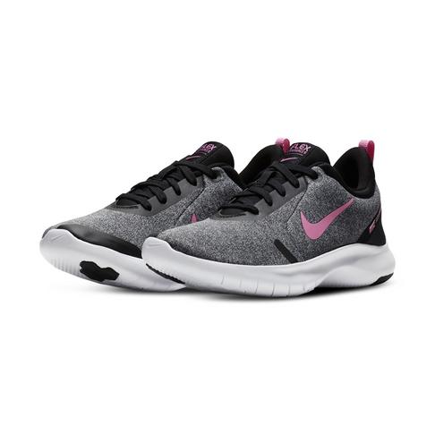 09be0a15b128 Women s Nike Flex Experience RN 8 Grey Pink Shoe