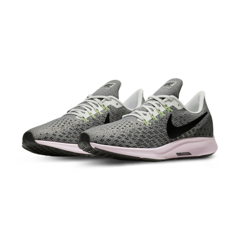 info for a6df7 bee0d Women's Nike Air Zoom Pegasus 35 Grey/Pink Shoe