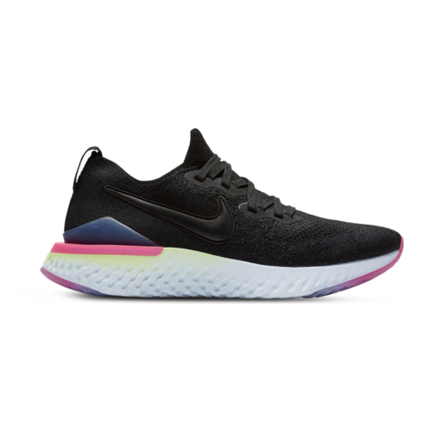 00afb16f89c9 Women s Nike Epic React Flyknit 2 Black Pink Shoe