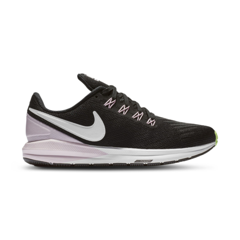 100% quality detailing 50% price Women's Nike Air Zoom Structure 22 Black/Pink Shoe