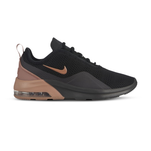 pretty nice f11fd 4c67e Women s Nike Air Max Motion 2 Black Gold Shoe