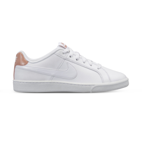 sports shoes bad2a c03c3 Women s Nike Court Royale White Rose Gold Shoe