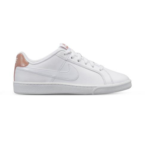 6719b2d599e Women s Nike Court Royale White Rose Gold Shoe