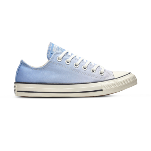 299e9f75a656 Women s Converse Chuck Taylor All Star Ombre Low Blue White Shoe
