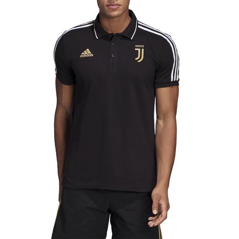 a87b829ed4a0 Men s adidas Juventus Black Polo Shirt