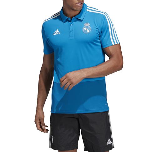 100% authentic 4a3dd 7fb08 Men's adidas Real Madrid Blue Polo Shirt