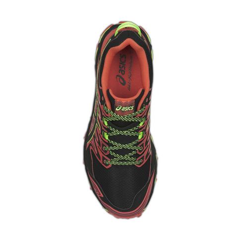fd46f4dc Men's Asics Gel Fujitrabuco 7 Red/Black Shoe